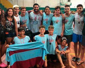 Fisherton logró el 3º lugar en el Nacional U15 de waterpolo