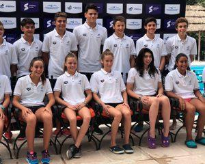 Medun, Wallsey y Concetti participaron del 1º Campus rumbo al Sudamericano juvenil