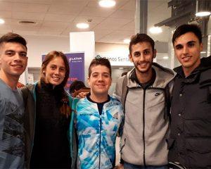 Facundo Arregui ya está en Brasil para los Fisu América Games
