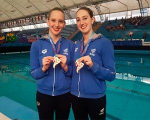 Dos medallas para la Natación Artística en Lima