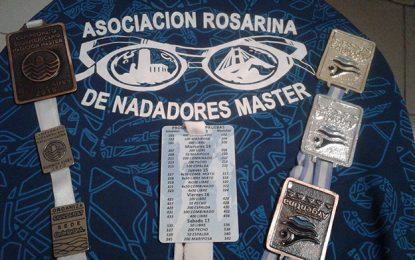 Destacada labor de los Nadadores Master