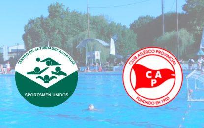 Waterpolo: Sportsmen y Provincial campeones