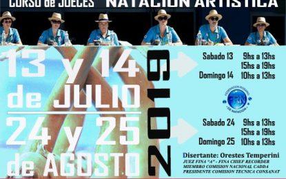 Curso Jueces Natación Artística