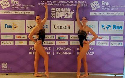 Camila Arregui y Trinidad López se presentaron en Canadá