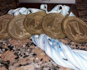 Diecisiete podios en el Nacional de Cadetes de Natación
